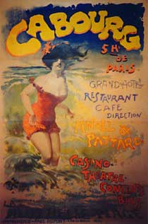 Cabourg 1893, affiche
