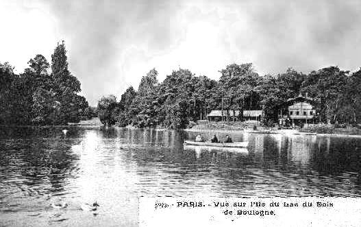 Bois de Boulogne, lIle des Cignes, foto ~ Grand Hotel Bois De Boulogne