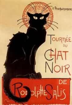 Steinlein-Le cabaret le Chat Noir, affiche